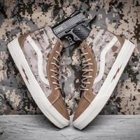 Vans Syndicate SK8 Hi Defcon Camouflage Canvas Sneakers Sport Shoes