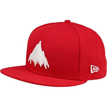 BURTON Men's You Owe New Era Hat, Chili Pepper, 7 1/2