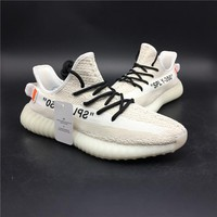 "Yeezy 350 Boost V2 ""white"" sports shoes"