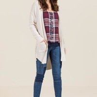 Dorrit Lace Up Cardigan