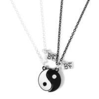 Best Friends Magnetic Yin Yang Necklaces Set of 2
