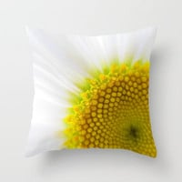 You Brighten My Day Throw Pillow by RichCaspian | Society6