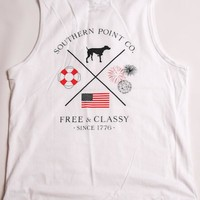 Free & Classy Tank | Southern Point Co.