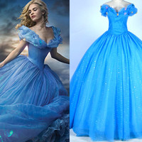 Cinderella Dress, Cinderella Costume, Cinderella Cosplay