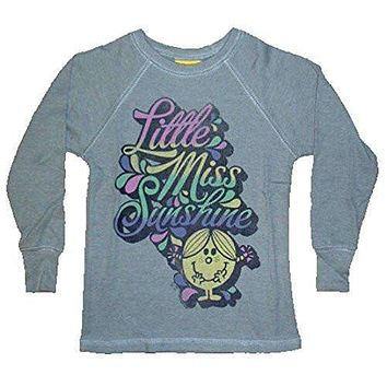Junk Food Girls Little Miss Sunshine Script Thermal Shirt