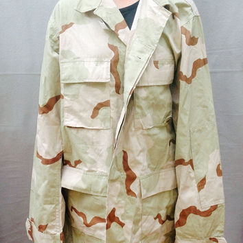 Jacket, Vintage US Army Jacket, Camo, Size Womens Large, Coat, USA, US Military