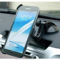 Amazon.com: Stick Anywhere Multi Surface Car Mount for Samsung Galaxy Note II 2: Cell Phones & Accessories