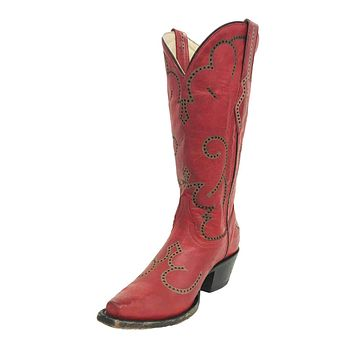 Corral Red Laser & Tumbling Boots G1317