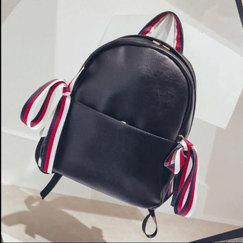 University College Backpack  women 2018 Korea New Mori Girl  Style School bags Street Trend Soft leather AT_63_4