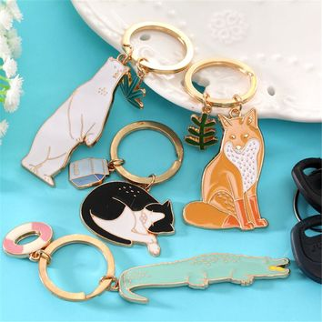 Animal Friend Keychain
