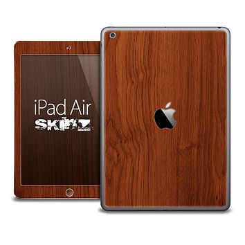 The Cherry Woodgrain Skin for the iPad Air
