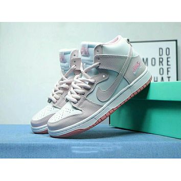 Nike Sb Zoom Dunk Newest Popular Women Personality High Help Running Sport Shoes Sneakers