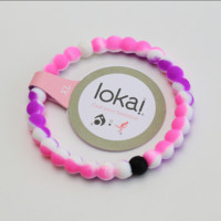 "Hot Lokai Bracelets in RAINBOW Red and Rainbow Purple  Lokai Bracelet Bangles   "" FREE SHIPPING """