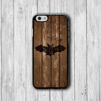 BAT Wood Abstract MagaBat Engrave Wooden iPhone Case, iPhone 6 Case, iPhone 6 Plus, iPhone 5 / 5S, iPhone 4 / 4S,  Animal Phone Personalized