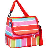 Wildkin Bright Stripes Double Decker Lunch Box - eBags.com