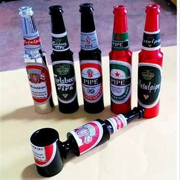 Free Portable Beer Bottle Smoking Pipe Giveaway Gift