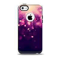 Dark Purple with Desending Lightdrops Skin for the iPhone 5c OtterBox Commuter Case