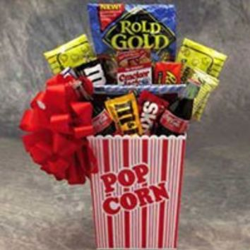 Popcorn Pack Medium Gift Basket