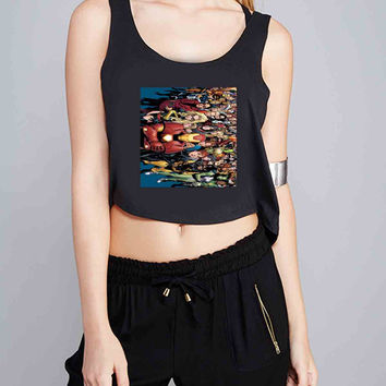 Marvel Super Heroes for Crop Tank Girls S, M, L, XL, XXL *07*