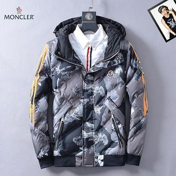 Moncler Fashion Casual Quilted Cardigan Jacket Coat Hoodie-2