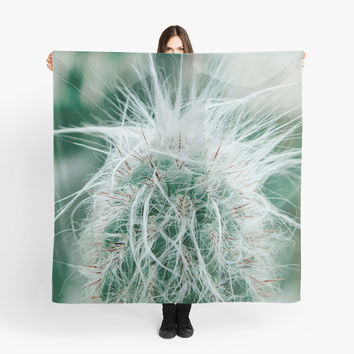 'Cactus photography 3' Scarf by VanGalt