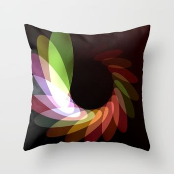 Elliptical Motion Throw Pillow by Eric Rasmussen