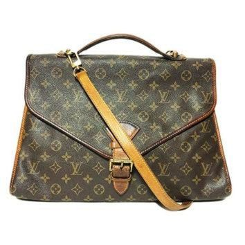 PEAPYD9 Authentic Louis Vuitton Vintage Hand Bag With Strap