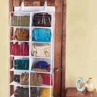 Over-the-Door Purse Storage