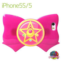 Sailor Moon Ribbon Shaped Case for iPhone 5s/5 (Crystal Star Brooch)