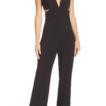 Laundry by Shelli Segal Cutout Jumpsuit | Nordstrom