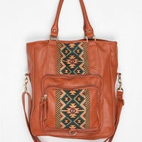 Urban Outfitters - Ecote Pattern-Block Tote Bag