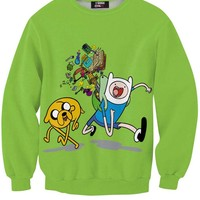 Green Jake and Finn Sweatshirt