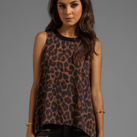Eight Sixty Leopard Tank in Brown/Black from REVOLVEclothing.com