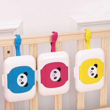 Wet Tissue Box Plastic Automatic Case Real Tissue Case Baby Wipes Press Pop-up Design Home