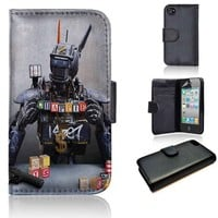 Chappie | wallet case | iPhone 4/4s 5 5s 5c 6 6+ case | samsung galaxy s3 s4 s5 s6 case |