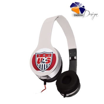 USA National Soccer Team Headphones 2014 sp