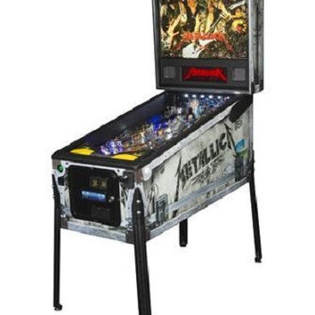 Stern Metallica Roadcase Premium Pinball Machine