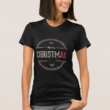 Merry Christmas Greeting T-Shirt