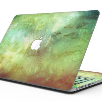 Dark 862 Absorbed Watercolor Texture - MacBook Pro with Retina Display Full-Coverage Skin Kit