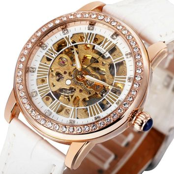 Women's Stainless Steel Automatic Watch