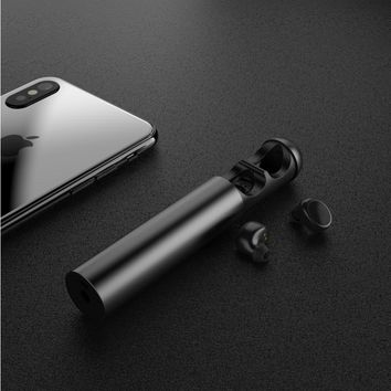Wonstart Mini True Wireless Earbuds with Charging Case Bluetooth Earphone Noise Cancelling Sport In Ear Bluetooth Headphones