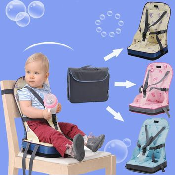 Waterproof Baby Dining Chair Bag with Safe Harness