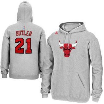 Jimmy Butler - Chicago Bulls -- Player Hoodie