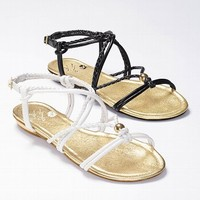 Knotted Flat Sandal