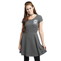 Star Wars First Order Rib-Knit Skater Dress