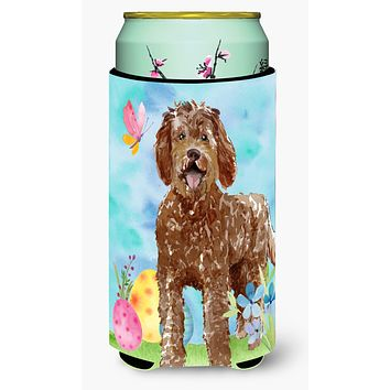 Easter Eggs Labradoodle Tall Boy Beverage Insulator Hugger CK1911TBC