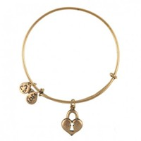 Key To My Heart Charm Bangle