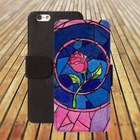 iphone 5 5s case Beauty and the beast rose colorful iphone 4/4s iPhone 6 6 Plus iphone 5C Wallet Case,iPhone 5 Case,Cover,Cases colorful pattern L251