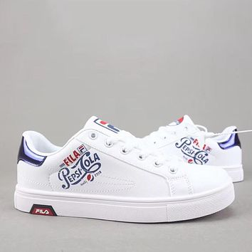 Trendsetter Pepsi Cola X Fila Disruptor Ii Women Men Fashion Casual  Old Skool Low-Top  Shoes