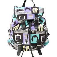 Supernatural Icons Slouch Backpack